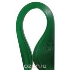 Набор бумаги для квиллинга, темно-зеленый, полоски 0,3 см х 30 см, 100 шт