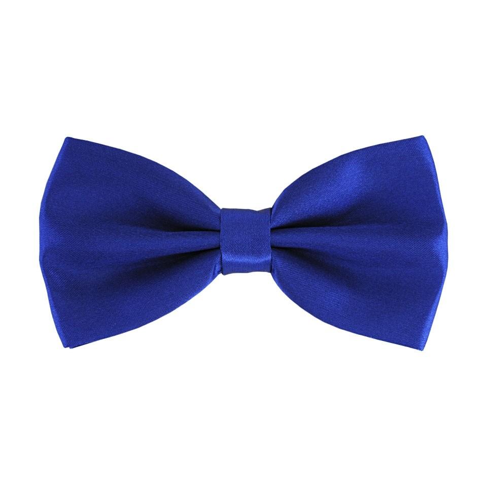 Синяя галстук-бабочка