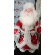 Игрушка Дед Мороз под елку в валенках и в ушанке
