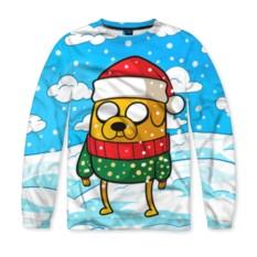 Мужской свитшот 3D Джейк в свитере