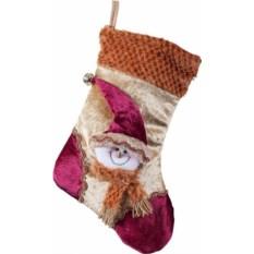 Носок для подарков Снеговик (40см)