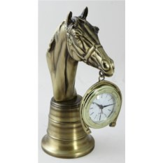 Бронзовые настольные часы Каб Кавалло