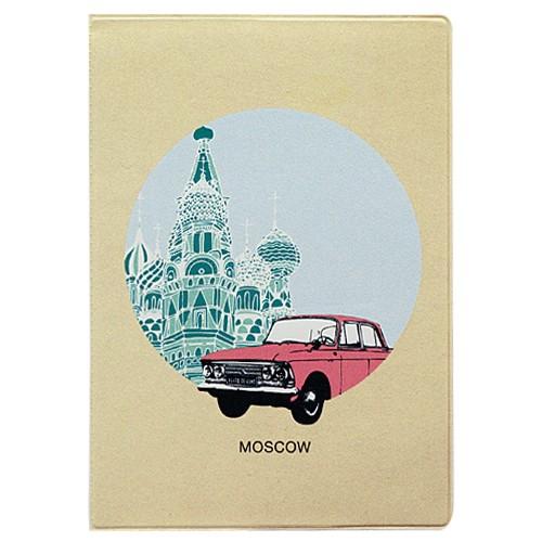 Обложка для паспорта Moscow