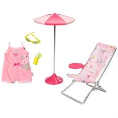 Набор для куклы Baby born Солнечные ванны от Zapf Creation