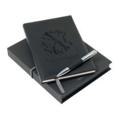 Набор Christian Lacroix: блокнот и шариковая ручка