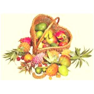 Корзина с фруктами L.O.V.E.