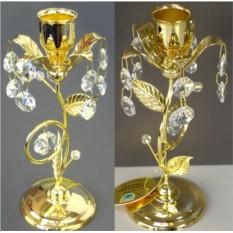Декоративный подсвечник с кристаллами Swarovski