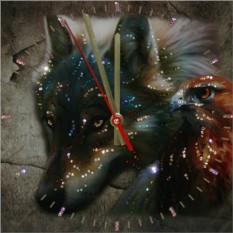 Часы с кристаллами Swarovski Взгляд хищника