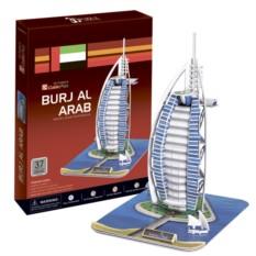 3D пазлы Cubic Fun Отель Бурж эль Араб (Дубаи)