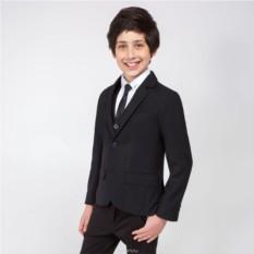 Черный пиджак для мальчика Acoola