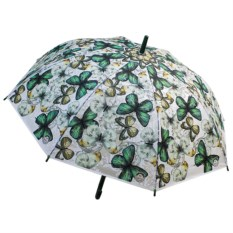 Женский зонт-трость Бабочки