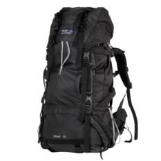 Чёрный туристический рюкзак на 70 л