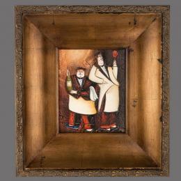 Картина «Повар», холст, масло