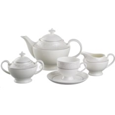 Чайный сервиз Узор на 6 персон