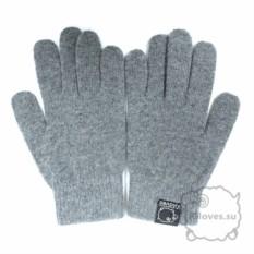 Серые перчатки для сенсорного экрана iGloves