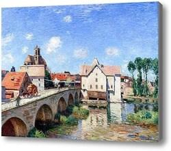 Репродукция картины Мост в  Море