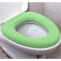 Теплое сиденье для туалета Зеленое Тепло
