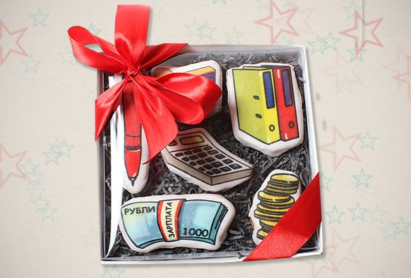 Подарочное печенье «Дорогому бухгалтеру»