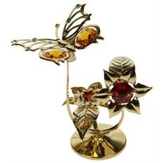 Декоративная композиция Бабочка на цветке