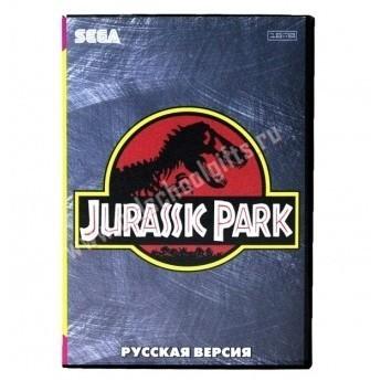 Картридж для Sega - игра Jurassic Park