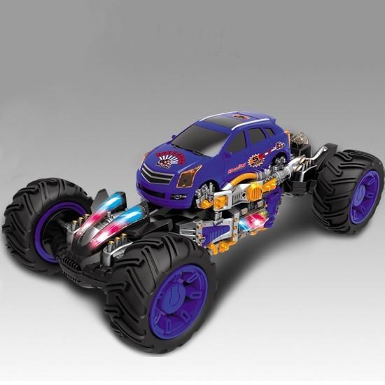 Радиоуправляемый автомобиль Каркадер синий - 333-NBS01