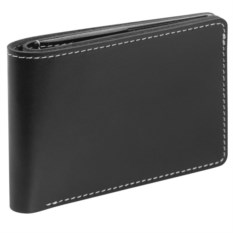 Черное портмоне Security