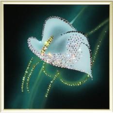 Картина с кристаллами Swarovski Калла-2