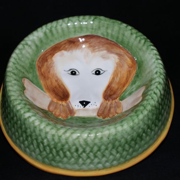 Миска с декором для собак (маленькая)