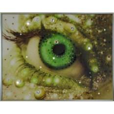 Картина с кристаллами Swarovski Око