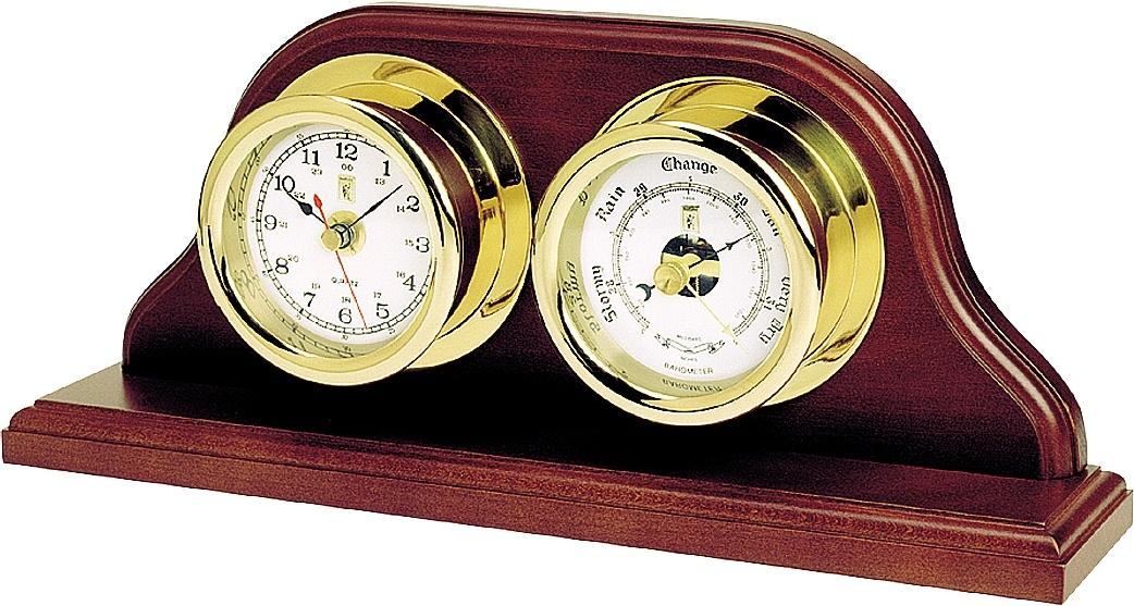 Часы настольные с барометром Sea Power