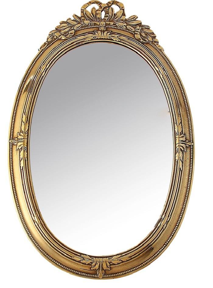 Настенное зеркало Возрождение, латунь
