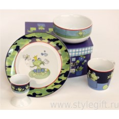 Детский набор посуды Царевна-лягушка