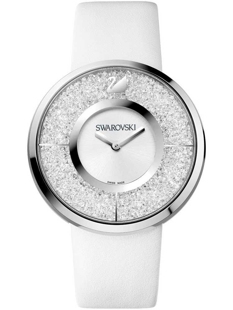 Часы из нержавеющей стали Crystalline White