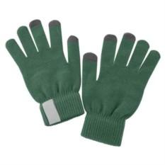 Зеленые сенсорные перчатки Scroll