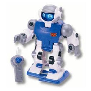 Робот синий KEENWAY + пульт управления