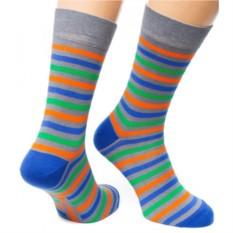 Серые носки Friday Stripes