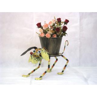Подставка для цветов «Собака»