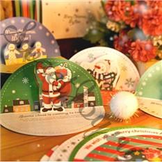 Набор новогодних мини-открыток Christmas Card Set