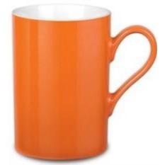 Оранжевая фарфоровая кружка Prime Colour