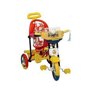 Детский прогулочный трехколесный велосипед Jaguar