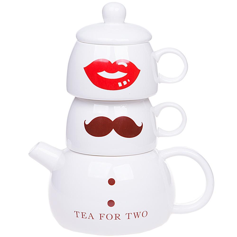 Подарочный чайный набор «Мистер и Миссис Ти»