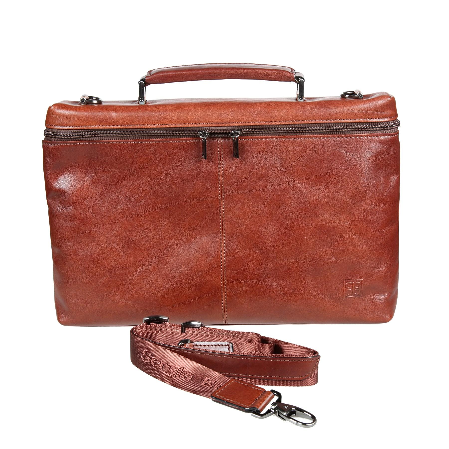 f964f9393d10 Кожаный портфель Sergio Belotti 9308 milano brown | Подарки.ру