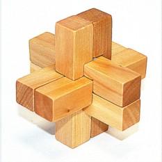 Деревянная головоломка Крест от Эврика