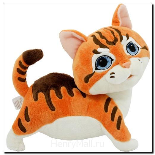 Игрушка плюшевая котенок Тайгер