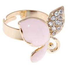 Кольцо в виде бабочки