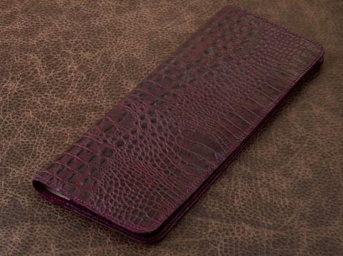 Планинг Vignette (фиолетовый, крокодил; нат. кожа)