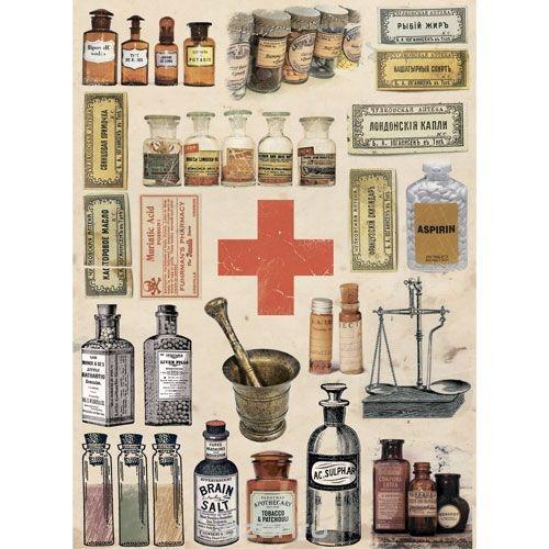 Рисовая бумага для декупажа Craft Premier Лекарства
