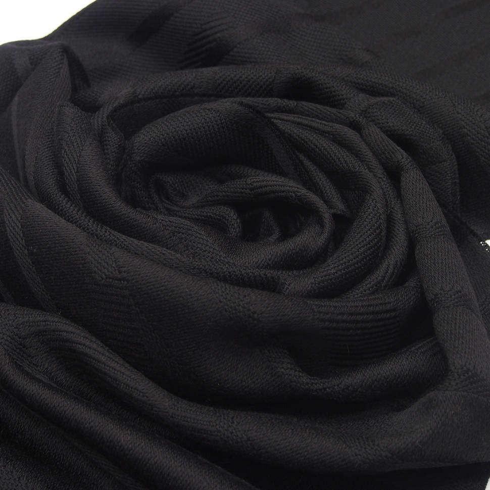 Мужской шарф с вышитыми полосками Versace