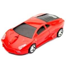 Красная беспроводная мышь Lamborghini