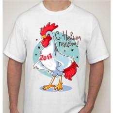 Мужская футболка Петух